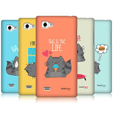 HEAD CASE DESIGNS WILBUR THE CAT HARD BACK CASE COVER FOR LG OPTIMUS 4X HD P880