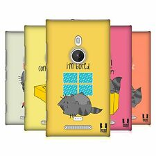 HEAD CASE DESIGNS WILBUR THE CAT PROTECTIVE BACK CASE COVER FOR NOKIA LUMIA 925