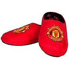 Manchester United FC OFFICIAL Red Mule Defender Slippers - New Men's Gifts