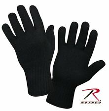 Rothco Military Wool Glove Liners - Black