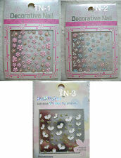 Decorative Nail 3D Nail Art ( Nail Sticker ) 1 sheet  Made In Japan (TN-1-3)