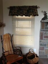 """NEW 2""""JC Penney Faux Wood Window Blind / shade"""