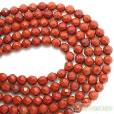 Natural Red Jasper Gemstone Faceted Round Spacer Beads 6mm 8mm 10mm 12mm 15''