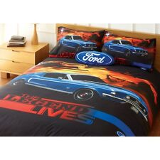 Ford Mustang The Legend Lives Quilt Cover Set - SINGLE, DOUBLE, QUEEN, KING