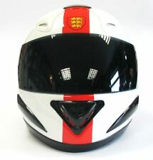 VCAN V100 ENGLAND MOTORCYCLE MOTORBIKE FULL FACE SCOOTER HELMET ENGLISH