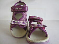 Clarks Infant Girls Star Games Purple Combi Sizes 4 X 10.5 F Fitting (os)
