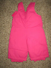 Children's Place pink snowsuit overalls baby girl  outerwear NEW!  SHIPS FREE!