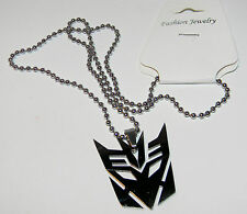 SUPER HERO NECKLACE... STAINLESS STEEL.. 9 CHOICES... NEW.. BATMAN, PUNISHER +++