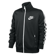 NIKE HBR Limitless Tracksuit Jacket Track/Sweat Top Retro Style Black/White