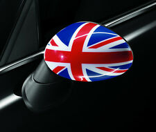 MINI Cooper Mirror Caps Union Jack British Flag OEM Hardtop Clubman Countryman