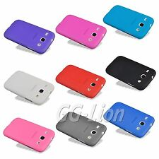 Matte TPU Silicone Skin Cover Case For Samsung Galaxy Core i8260 i8262 +LCD Film
