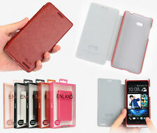 New Flip PU Leather Cover Skin Case For HTC DESIRE 600 Dual Sim / 606W