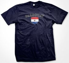 Paraguay Country Crest Flag Colors Nationality Ethnic Pride -Mens T-shirt