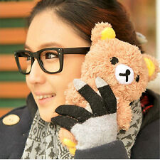 Cool Hot 3D Cute Plush Teddy Bear Doll Toy Cover Case For Apple iPhone Samsung