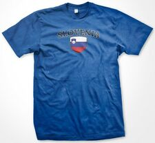 Slovenia Country Crest Flag Colors Nationality Ethnic Pride -Mens T-shirt