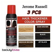 LOT OF 3 [JEROME RUSSELL] THINNING HAIR COLOR THICKENER SPRAY ON 3PCS 3.5OZ
