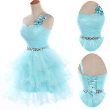 New Sweet Princess New Ladies Evening Party Ball Gown Cocktail Skirt Short Dress