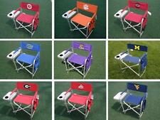 Choose Your NCAA College Team Ultimate Folding Directors Chair with Side Table