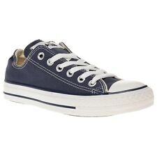 New Boys Converse Blue All Star Ox Canvas Trainers Lace Up