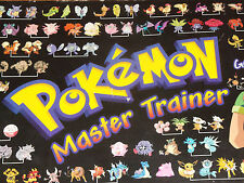 MB GAMES POKEMON MASTER BOARD GAME SPARE POKEMON TOKENS PLEASE SELECT LOT 1
