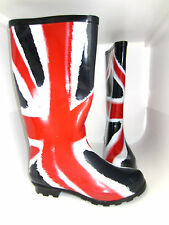 """Union Jack Festival Welly Boots """"X1171"""" 3 to 8      (R5B)"""