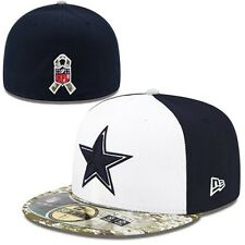 New Era Dallas Cowboys 59FIFTY Salute To Service Sideline Performance Fitted Hat