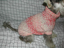 Hand Knit Dog Sweater for 15-25 lbs. - Over 60 Colors Available - CUSTOM MADE