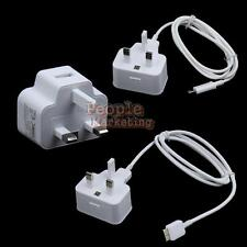 P4PM 3 Types UK Plug USB AC Wall Charge for Samsung Galaxy S3 S4 Note 2 3 N9000