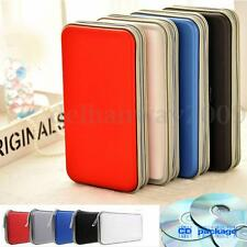 80 Disc CD DVD Album Storages Wallet Organizer Carry Bag Case Covers Holder Box