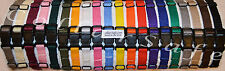 (Set) Nylon Puppy Litter Identification Snap Collars ID Identification Bands
