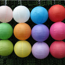 Nice Chinese Paper Lanterns Lamp Wedding Xmas Party Garden Decoration Rose Red