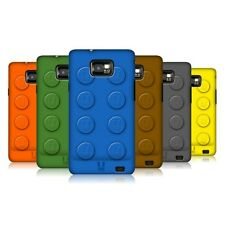 HEAD CASE DESIGNS BUILDING BLOCK CASE COVER FOR SAMSUNG GALAXY S2 II I9100