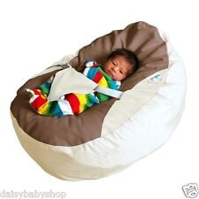 GaGa Baby Bean Bags Pre-filled w/ Adjustable Safety Harness, 4 Colours Available
