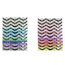 INV Black Chevron Zig-Zag Keyboard Cover Skin for Macbook Pro 13 15 17/Macbook