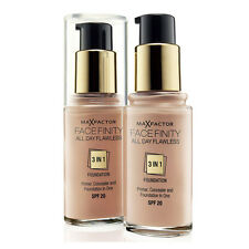 MAX FACTOR FACE MAKE UP FACEFINITY 3 IN 1 FOUNDATION, CHOOSE YOUR SHADE