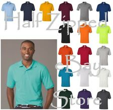 JERZEES Mens SpotShield 50/50 Polo Sport Shirt 437MSR S-5XL Cotton/Polyester