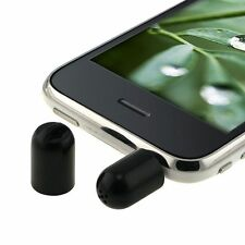 Black Universal 3.5mm Microphone Recorder For Cellphone Mobile