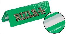 RIZLA Rolling papers Normal size (GREEN) 2x50-5x50-10x50-100x50 full box