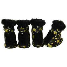 Pet Life Ultra-Fur Comfort Protective Boots (Set of 4)