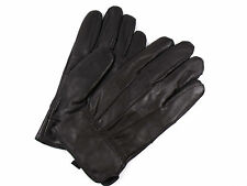 MENS NEW BROWN FULLY LINED LEATHER GLOVES 8922