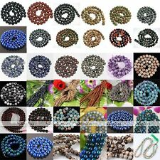 1 Strand Round Ball Gemstones Loose Bead Finding Jewellery Various Gem to Choose