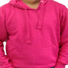 KIDS Plain Hoodie Hoody Sweatshirt Sweater Top Jumper Boys/Girls