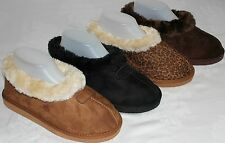Brand New Women's Comfortable Fur Lined Warm Soft Indoor Outdoor Slipper Shoes