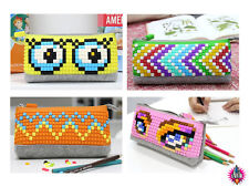 BRAND NEW RETRO UANYI BUILD YOUR OWN PENCIL CASE COVER COMES WITH PIXELS