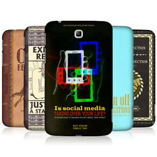 HEAD CASE DESIGNS GUIDE TO SOCIAL MEDIA CASE FOR SAMSUNG GALAXY TAB 3 7.0 P3200