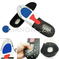3.5-9.5 Orthotic Arch Support Unisex Shoe Pad Sport Running Gel Insoles Cushion
