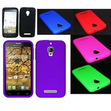 Soft Silicone Gel Rubber Skin Case Phone Cover Alcatel One Touch Fierce 7024W