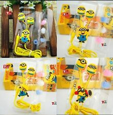 Wholesale Japanese Cartoon Anime Despicable Me 3.5 In-ear Phones Total 4 Styles