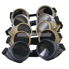 Cosplay Lunettes Steampunk Goggles Vintage Rustique Punk Glasses