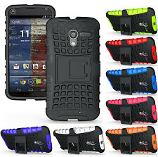 NEW GRENADE GRIP RUGGED TPU SKIN HARD CASE COVER STAND FOR MOTOROLA MOTO-X PHONE